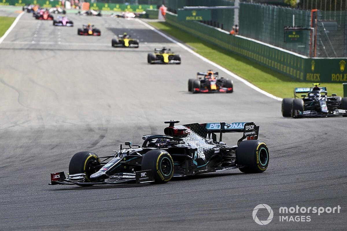 Hamilton: Saaie races komen door regelmakers, niet door coureurs
