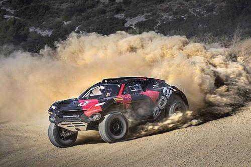 Bottas completa un test con el coche de Extreme E