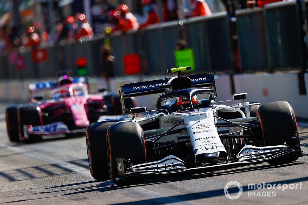 2020 F1 Italian Grand Prix race results