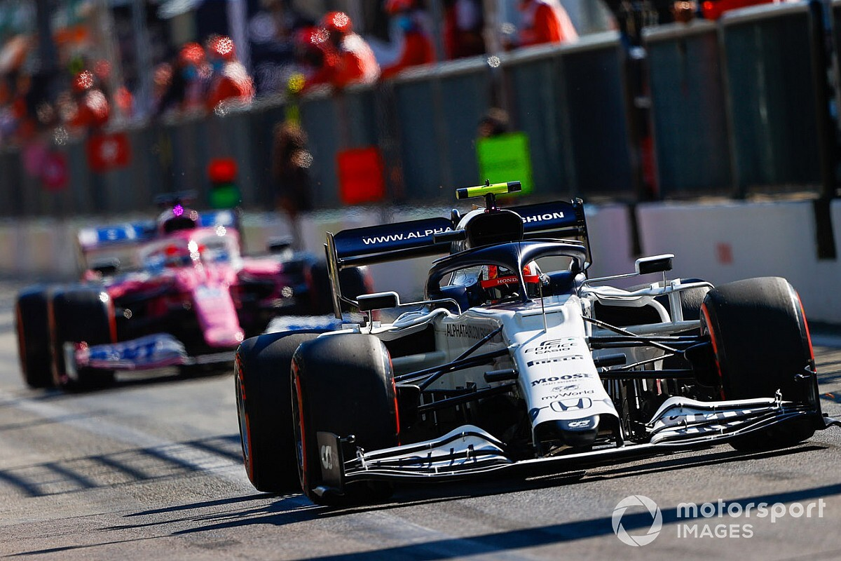 F1 Results Italian Grand Prix Gasly S Shock Win