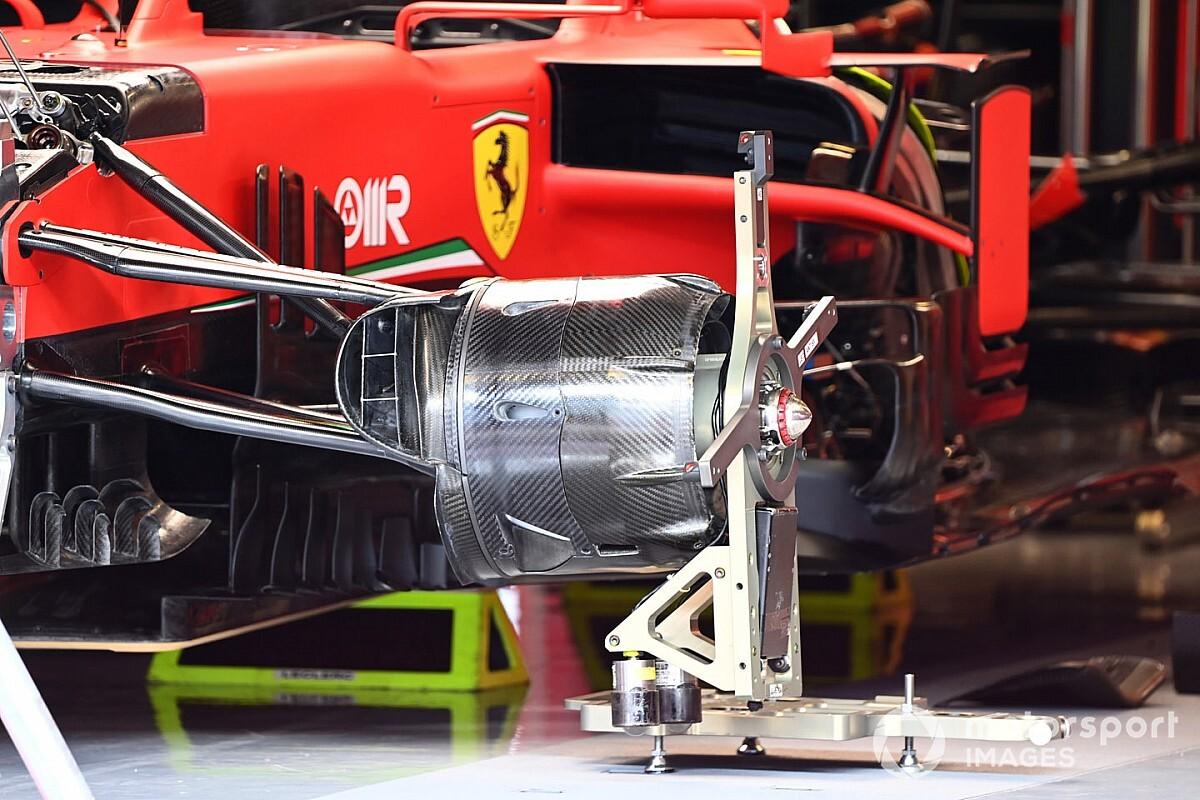 Ferrari: è nuovo anche il cestello dei freni