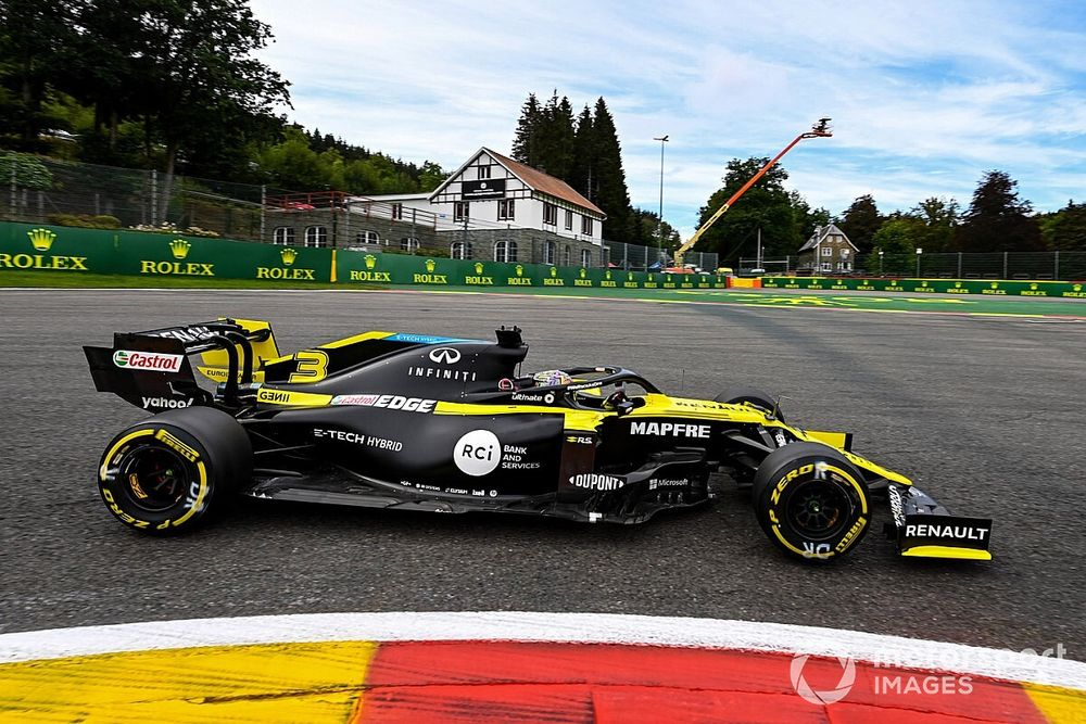 La Renault de Ricciardo pas endommagée par sa panne