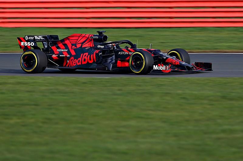 Bildergalerie: Erste Fahrfotos vom Red Bull RB15 mit Verstappen