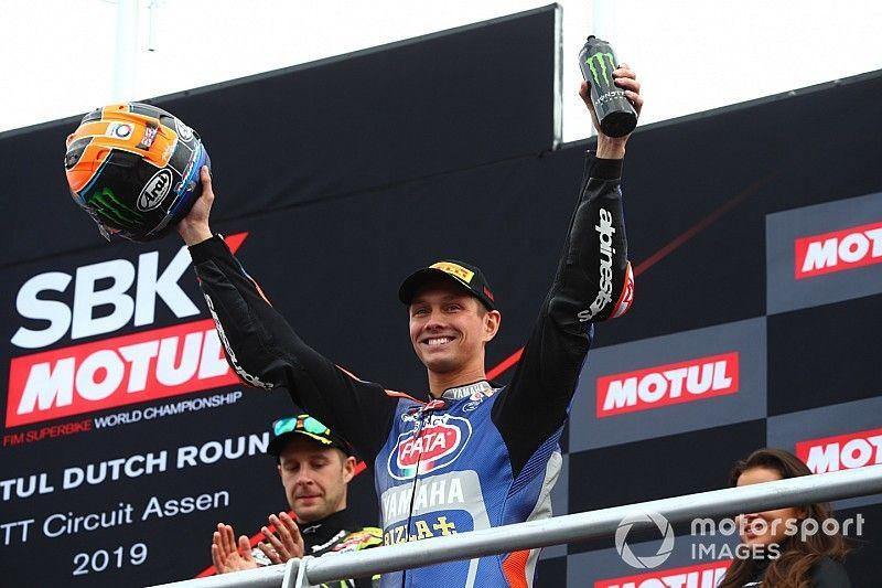 Van der Mark : un double podium et une belle bataille avec Rea