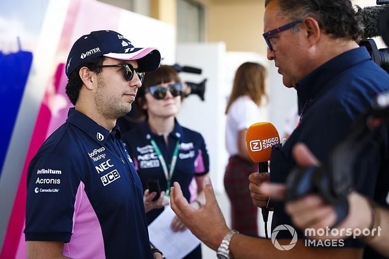 Checo Pérez espera seguir con la buena racha en Bahréin