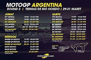 Jadwal lengkap MotoGP Argentina 2019