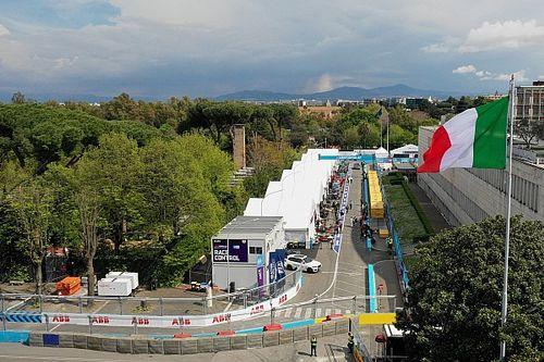 Las mejores imágenes, en vídeo y fotos, del ePrix de Roma de Fórmula E