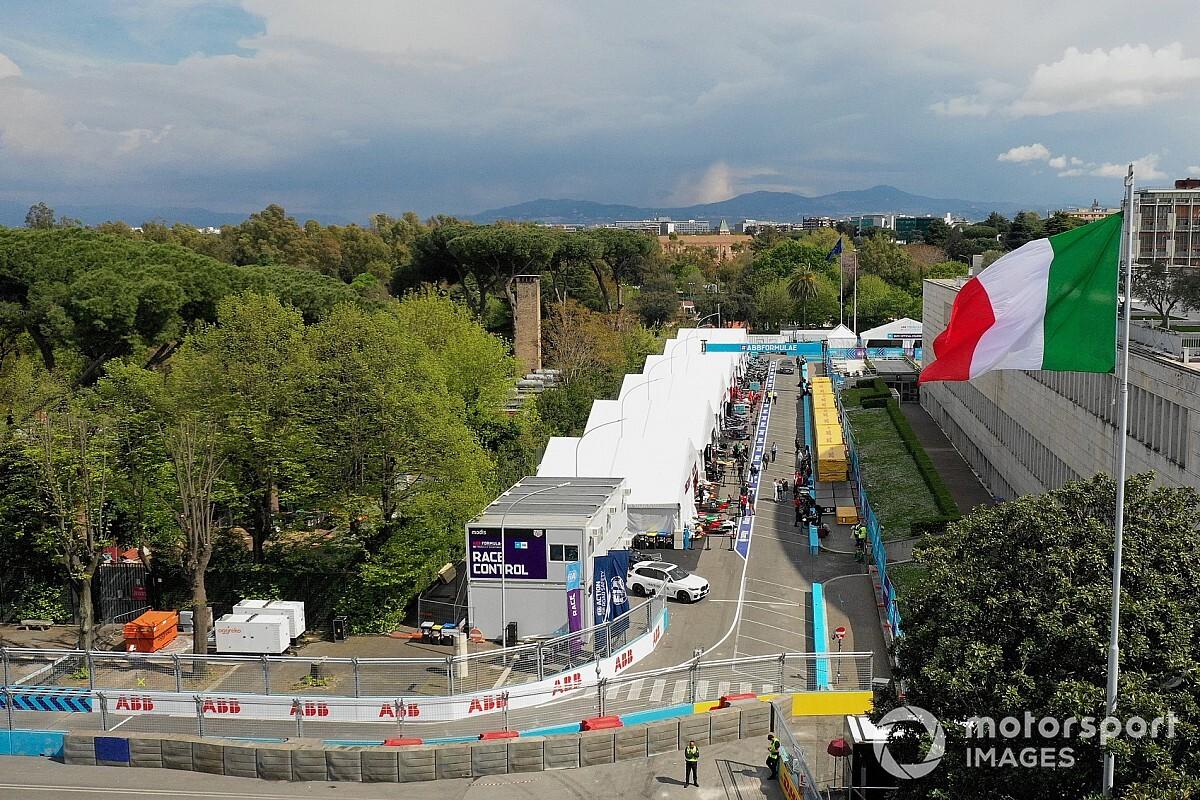 Formula E renews Rome race deal until 2025