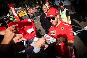 """Vettel: """"Siamo in una situazione migliore rispetto al 2018, speriamo di essere prede"""""""