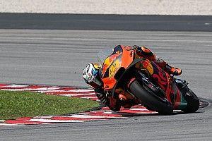 Espargaro puji race pace KTM