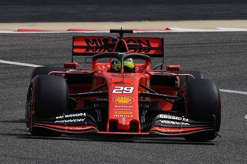 """Mick Schumacher: """"El Ferrari es asombroso"""""""