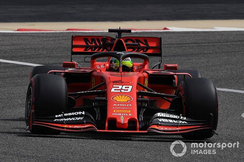 Test F1 Bahrain, Giorno 1: Mick Schumacher si inchina solo a Verstappen nel debutto sulla Ferrari