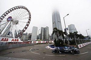 La grille de départ de l'E-Prix de Hong Kong