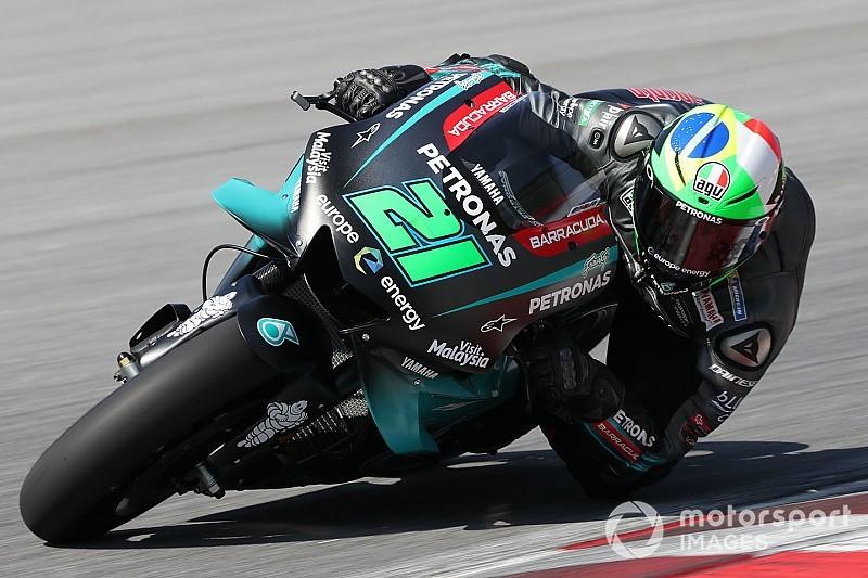 Morbidelli: Dividir pista com Rossi é uma grande motivação para mim
