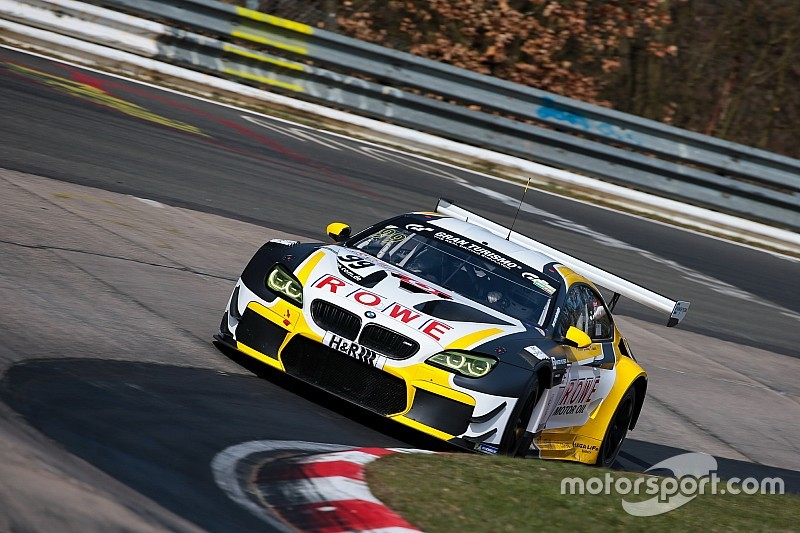 24 uur Nürburgring: ROWE BMW aan kop in ingekorte training