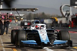 Williams hace cambios en el FW42 para asegurar su legalidad