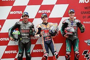 La parrilla de salida del GP de Japón de MotoGP, en imágenes