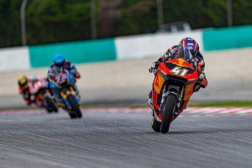 Moto2 Sepang: Marquez wereldkampioen ondanks zege Binder