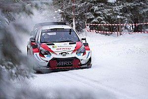 Svezia, Shakedown 1: tris Toyota con Rovanpera in vetta