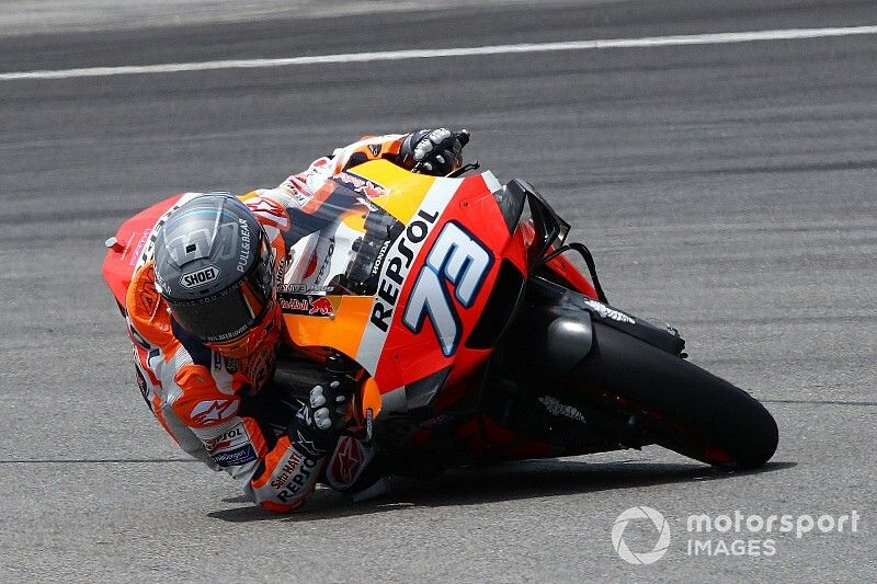 Honda paró a Alex Márquez por seguridad