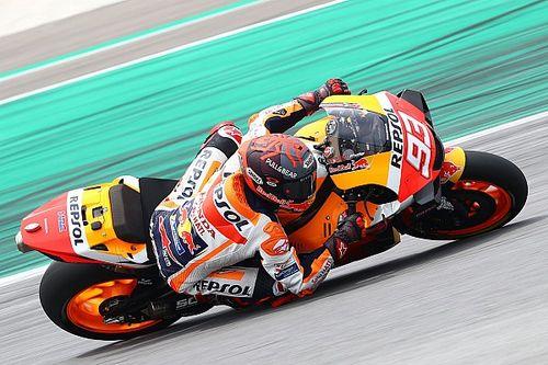 """Marquez over crash tijdens test: """"Misschien was ik vermoeid"""""""