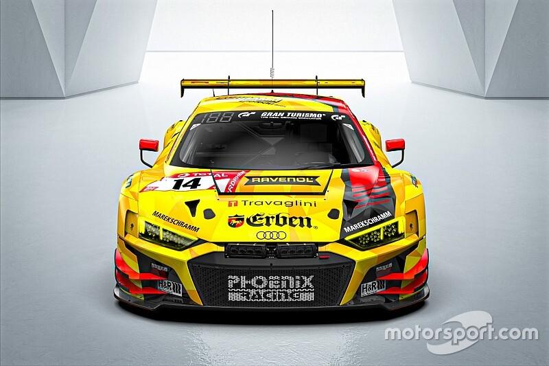 Beretta alla 24h del Nurburgring con l'Audi della Phoenix Racing