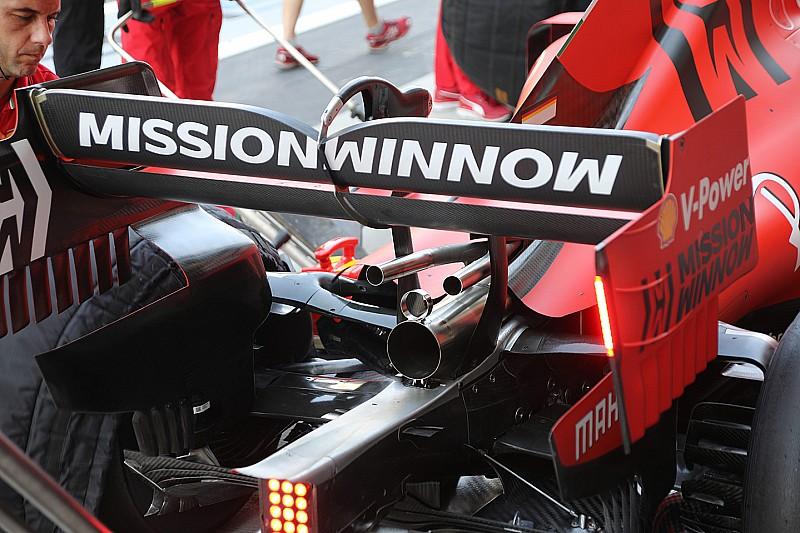 Ferrari experimenteert met nieuwe opstelling wastegate