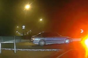 Tokyo Drift Sopronban: Lekapcsolta a rendőrség a körforgalomba merőlegesen érkező BMW-st (videó)