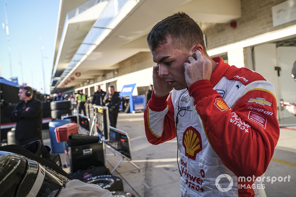 McLaughlin listened in on Penske Indy 500 radio