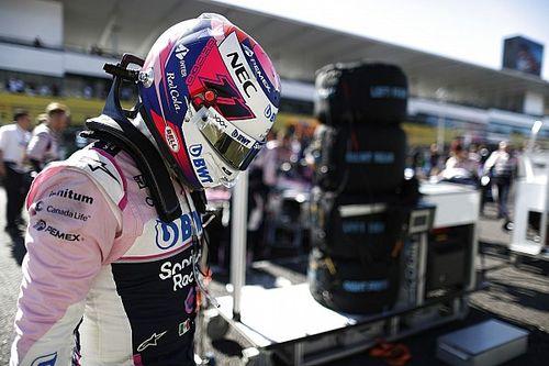 Pérez: 34 posiciones ganadas en la vuelta 1 en 2019