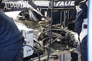 GALERÍA TÉCNICA: actualizaciones de los F1 en Barcelona, día 3