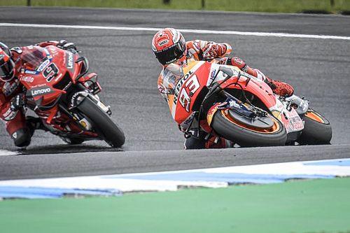 Marquez almost 'gave up' saving test crash
