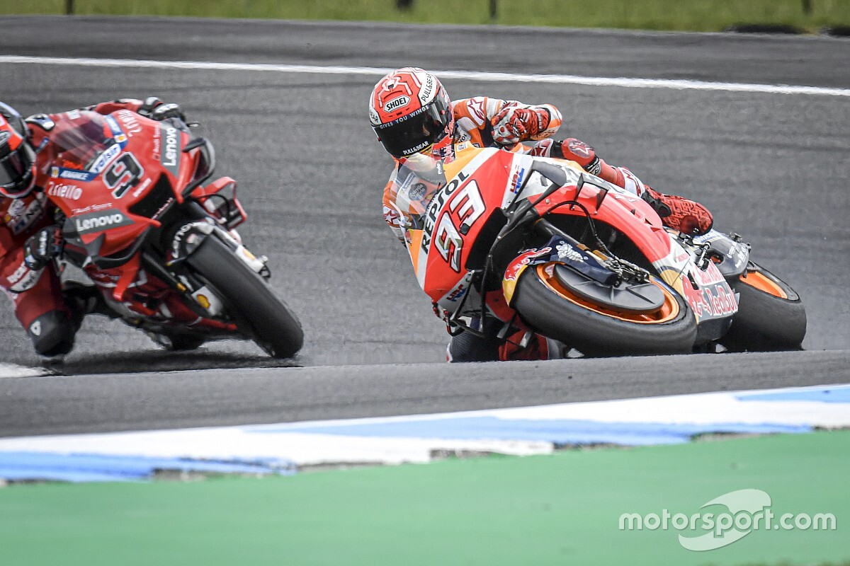 Marquez almost 'gave up' saving test crash