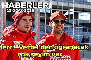 """Video: Leclerc: """"Vettel'den öğrenecek çok şeyim var"""" - 13 Ocak 2020 F1 Haberleri"""