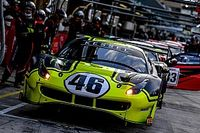 Rossi si diverte con la 488 GT3 in attesa dell'annuncio