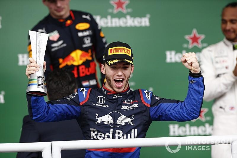 Verstappen en Hamilton lovend over optreden Gasly