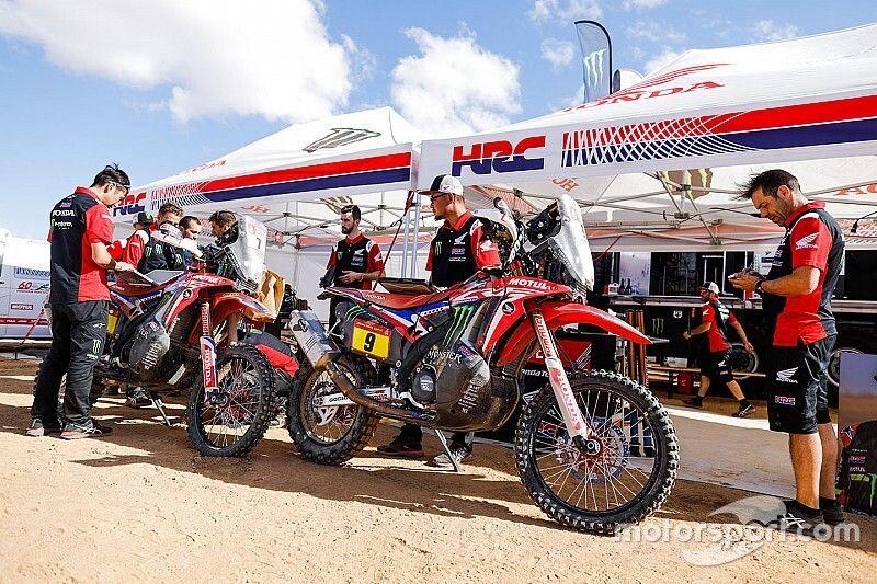 """Honda has """"much better cards"""" for Dakar win than KTM"""