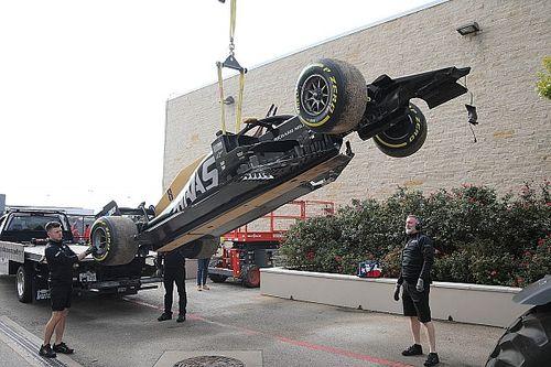 EL2 - Grosjean cabosse, Hamilton ne fait cas des bosses