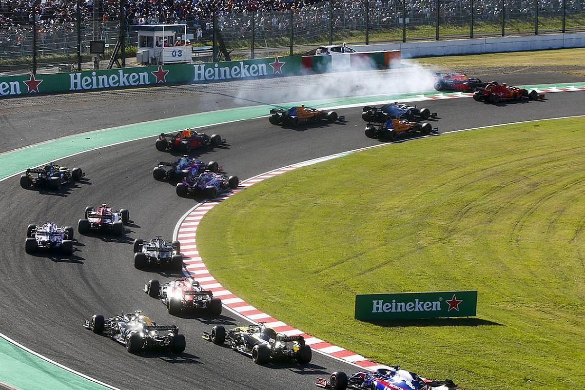 フェルスタッペンとの接触は完全に僕の責任……ルクレール、日本GP1周目を後悔