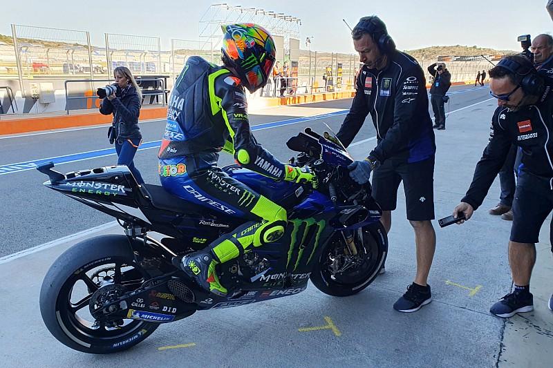 """Rossi: """"Buon test, siamo più veloci di quando abbiamo iniziato"""""""