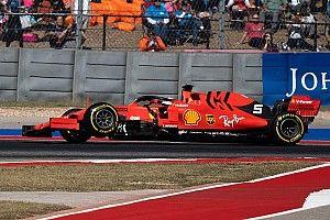 Videón, ahogy Vettel felfüggesztése megadja magát: durva