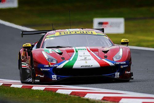 6 Ore del Fuji: Qualifiche difficili per la Ferrari. Rigon e Bird quinti in GTE-Pro