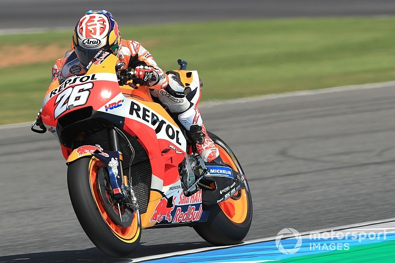 MotoGP日本FP2|最後の日本GP、ペドロサが首位。マルケスらは走らず