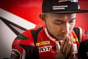 Akhir pekan ini, Dimas Ekky tes perdana Moto2