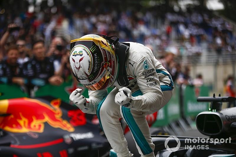 Konstrukteurs-Weltmeister: Die schönsten Mercedes-Jubelfotos