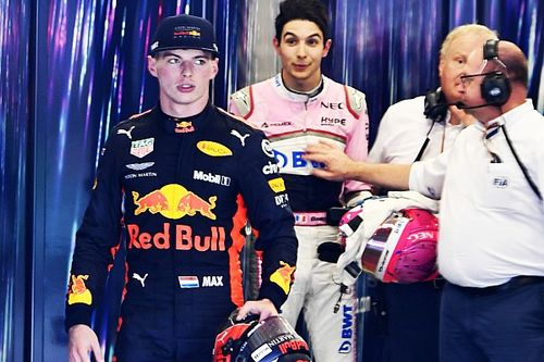 "Verstappen: Ocon a ""p***y"" after the race"
