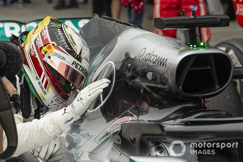 Mercedes: ecco cosa si era rotto nel motore di Hamilton e come è stato salvato