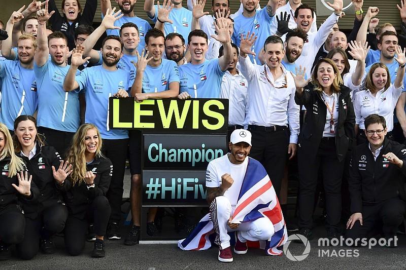 """Wolff: """"Nel 2018 ho visto il miglior Lewis Hamilton degli ultimi sei anni"""""""