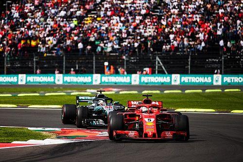 """Hamilton: """"Guidare una Ferrari che non vince da anni è un peso importante per Seb"""""""