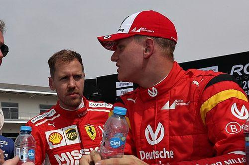 """Vettel: """"Mick Schumacher deve trovare la sua strada in F1"""""""
